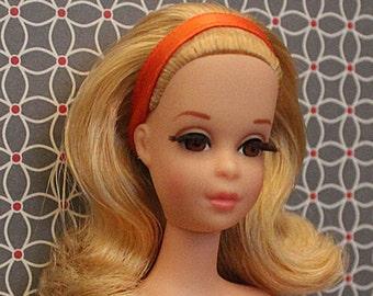 Reproduction Orange Headband Made For No Bangs Francie