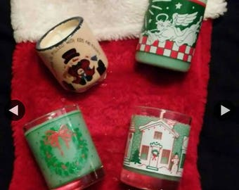 Home for Christmas scented soy candles