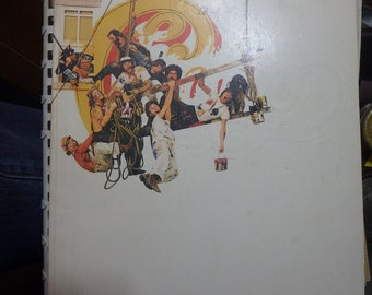 1974 Chicago IX greatest hits deluxe songbook-100 pages