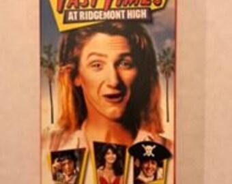 VHS Movie Fast Times At Ridgemont High 1999