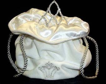 Tiara Bag - White