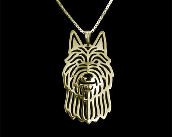 Berger Picard - gold pendant and necklace