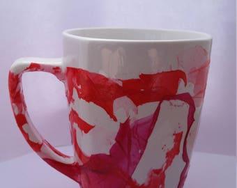 Marble Dipped Coffee or Tea Mug