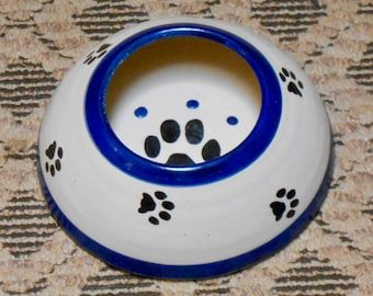 SALE!! Pawesome Long Ear Water Bowl, Electric Blue (Medium)