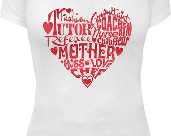 Everything Mom Birthday Glitter Tee