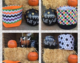 SALE Week--Kids Halloween Trick or Treat Bags *FREE PERSONALIZATION*