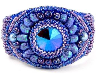 Keri Lee Bead Embroidery Bracelet kit by Ann Benson