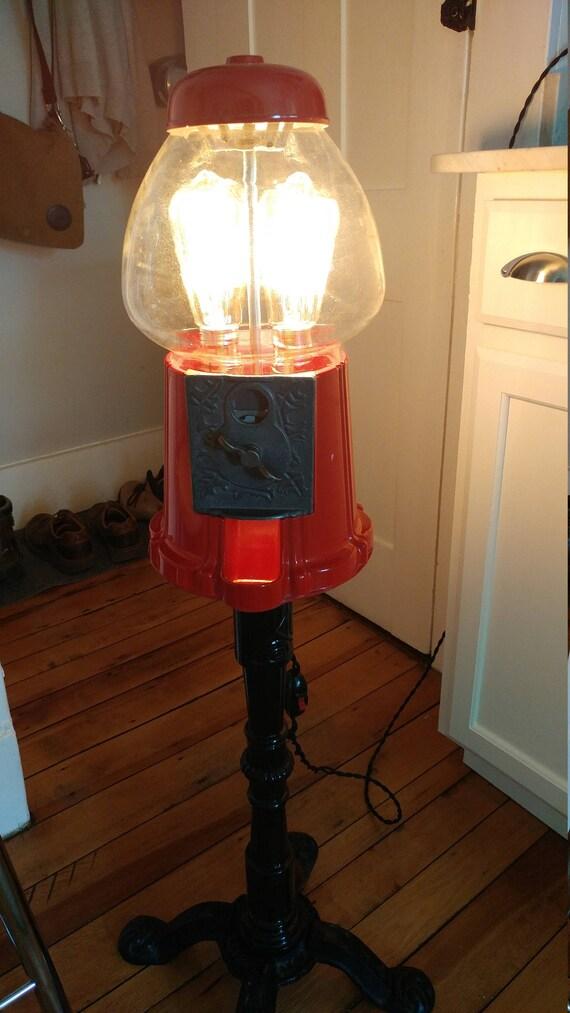 Bubble Gum Machine Lamp