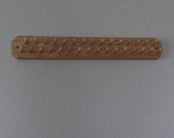 Hand crafted tie organizer and storage rack. Part No 1402-D