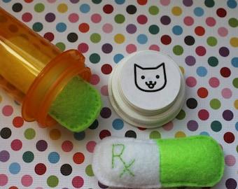 Cat Toy, Organic Catnip, Catnip Capsule Toy