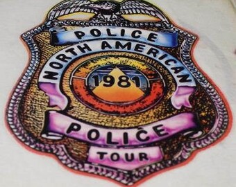 Police North American 1981 Tour Transfer