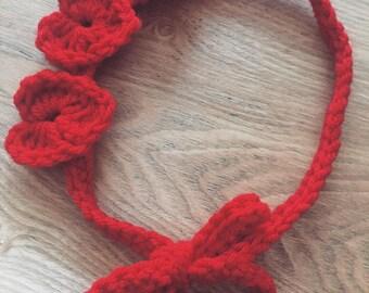 Monarchy hearts headband