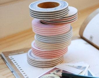 Decorative Adhesive Fabric Stripe Masking Tape