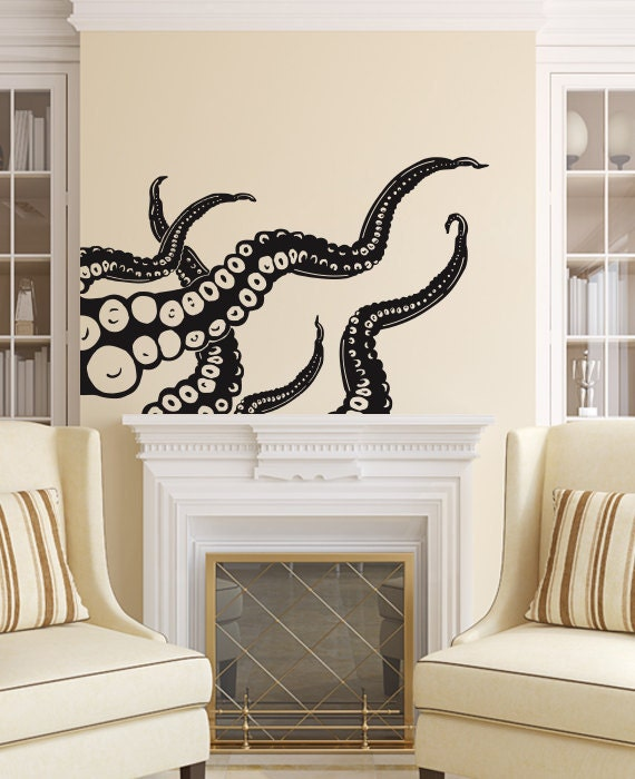 Octopus Wall Decal Tentacles
