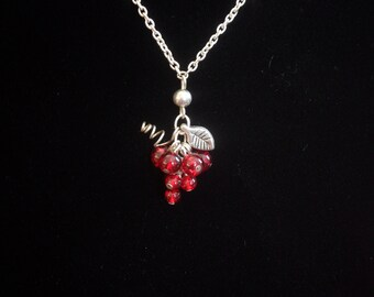 Grape cluster necklace by A TOUCH OF HEAVEN