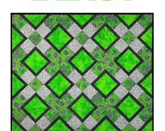 ON SALE 20% Off Blast  Quilt Pattern by Louanna Mary Quilt Designs