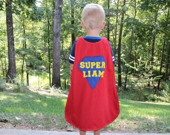 Superhero Cape - CUSTOMIZABLE Superman Cape