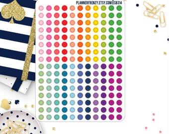 176 Mini Checklist Dot Stickers! SB314
