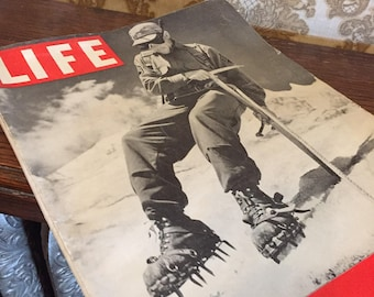 1942 Life Magazine--Mountain Trooper November 9, 1942