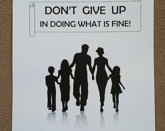 ENGLISH Teen/Adult Circuit Assembly JW Notebook Don't Give Up in Doing What is Fine