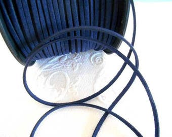 1 m Navy Blue Suede cord.