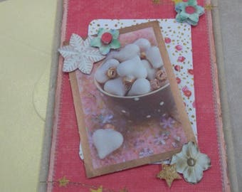 HAND made 874 3D greeting card