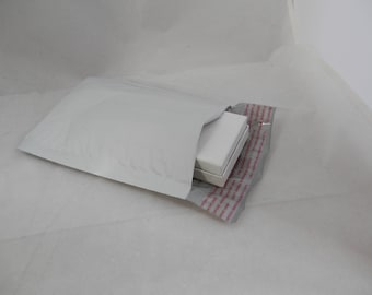 100 4x8 self sealing  poly bubble mailing envelopes, mailers, plastic mailers