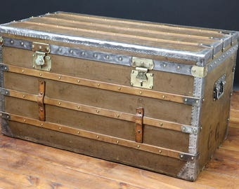 1890s Constant Vuiton Steamer Trunk