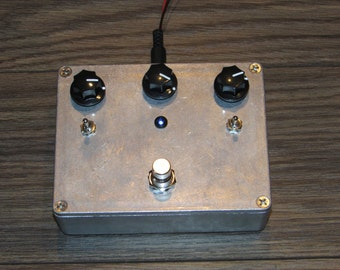 Distortion Wave Shaper Filter pedal // stomp box // effect pedal // Electro Lobotomy ( pre order )