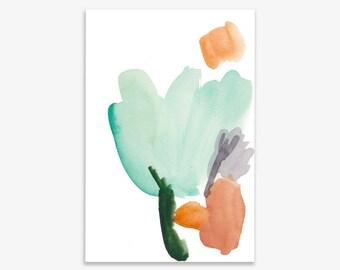 Flower colour I, print on fine art paper