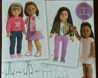 18 inch Doll Clothes Simplicity Pattern #8484