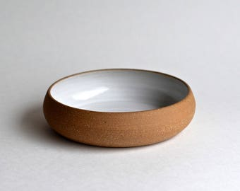 Medium Dinner Plate * Serving Dish  * Tableware * Serveware * Handmade Ceramics * White Plate