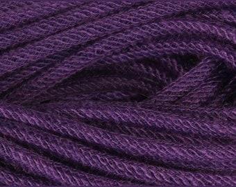 Jute Flex Tubing,  Wreath Tubing, 8mm x 30 Yd, Purple Tubing, Craft Supply, 6123