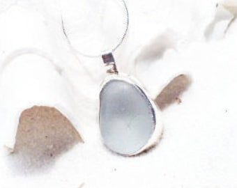 Sea Glass Necklace, Beach Necklace, Bezel Necklace, Sea Glass Jewelry, Sea Glass, Beach Glass, Seaglass, Gift for Mom