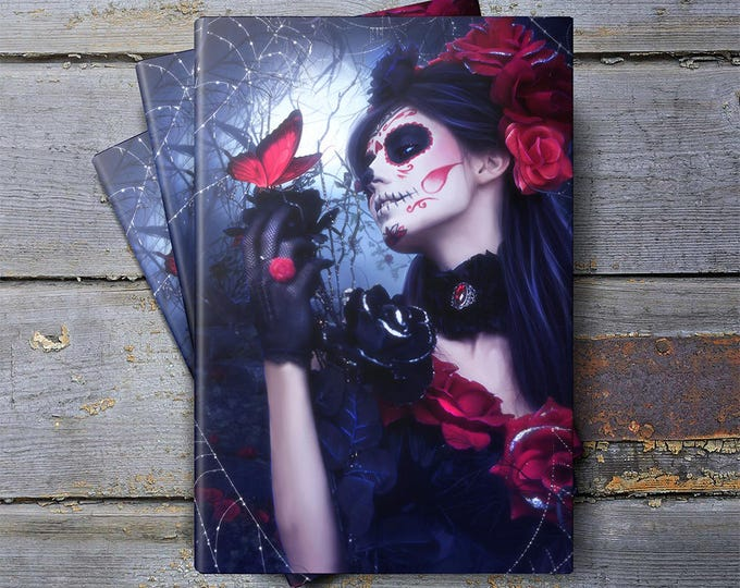 Gothic Day of the Dead notebook, journal, diary