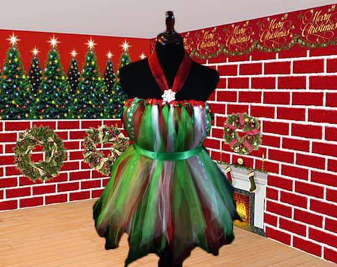 Christmas Time Tutu