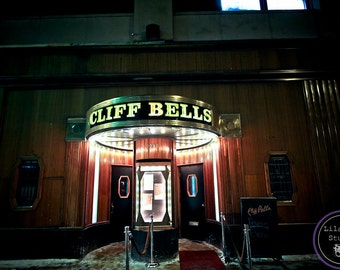 Cliff Bells Detroit Fine Art Photographic Print on Metallic Paper