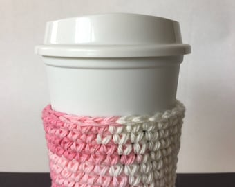 Coffee Cup Sleeve Cozy Reusable Travel Cozy Kitchen Dining Drinkware Housewarming Gift Basket Free Shipping