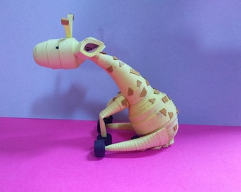 3d Giraffe A beautiful and fine art from quilling paper