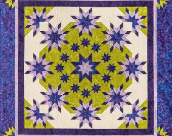 Morning Glory Quilt Pattern