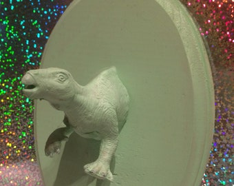 Faux Taxidermy - Mint Green Dino