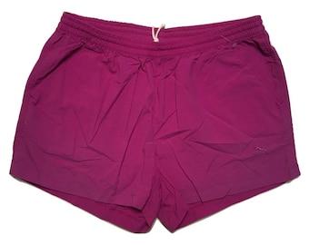PUMA shorts purple 90s - Sz L (1)