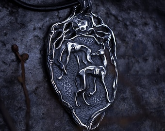 Hounds of winter pendant