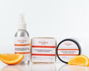 Orange Patchouli Gift Set