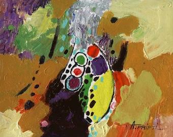 ORIGINAL OIL PAINTING 8X10 wall art small painting, modern painting, original abstract painting, abstract art, modern art, hand painted