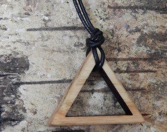 Element Fire Oak Pendant Necklace