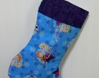 Disney Frozen Snowflake Christmas Stocking