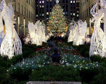 Wooden Art - Rockefeller Center - New York City, NY
