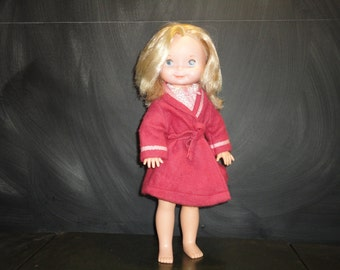 Vintage 1977 Fisher Price 210 My Friend Mandy Doll Bedtime Outfit 232 Pyjamas Housecoat