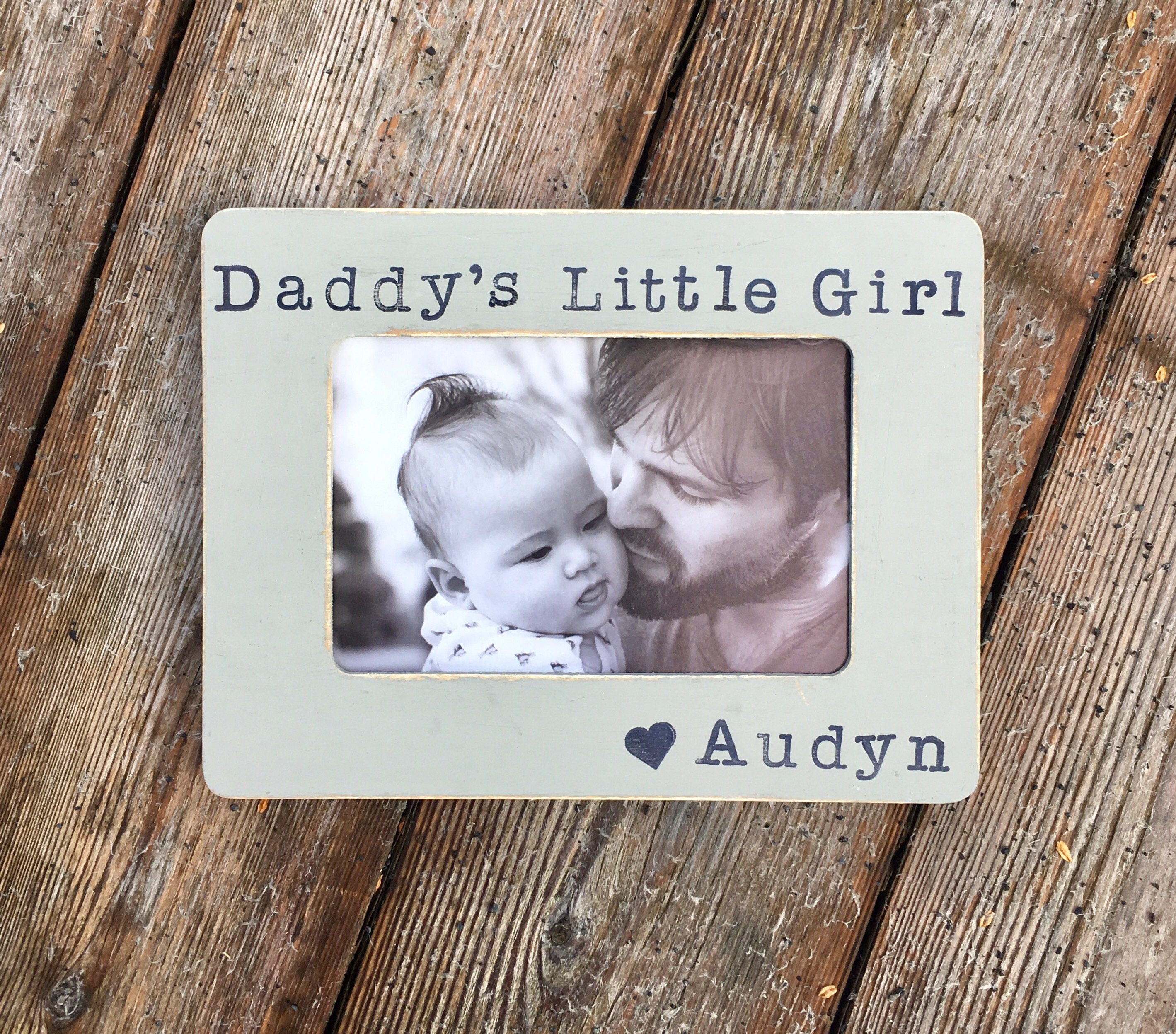 daddy\'s little girl, fathers day frame, daddy\'s girl, gifts for ...